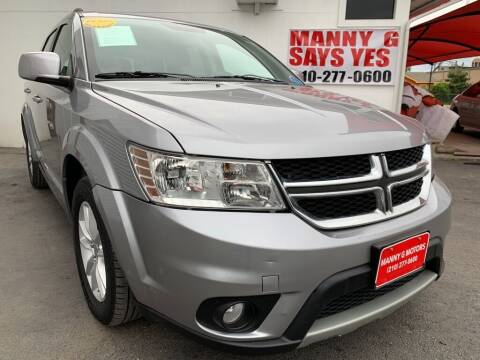 2017 Dodge Journey for sale at Manny G Motors in San Antonio TX