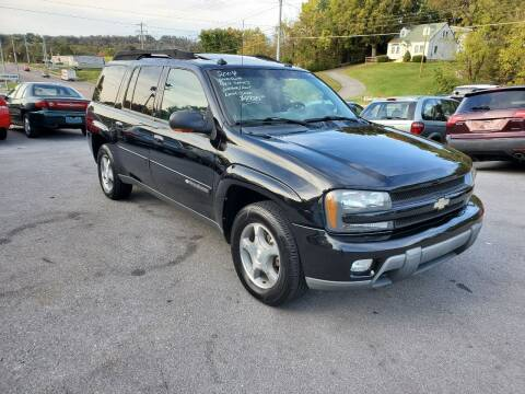2004 Chevrolet TrailBlazer EXT for sale at DISCOUNT AUTO SALES in Johnson City TN
