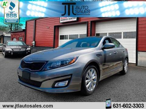 2014 Kia Optima for sale at JTL Auto Inc in Selden NY