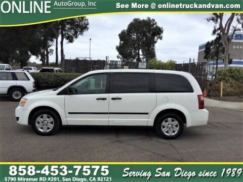 2008 Dodge Grand Caravan for sale at Online Auto Group Inc in San Diego CA