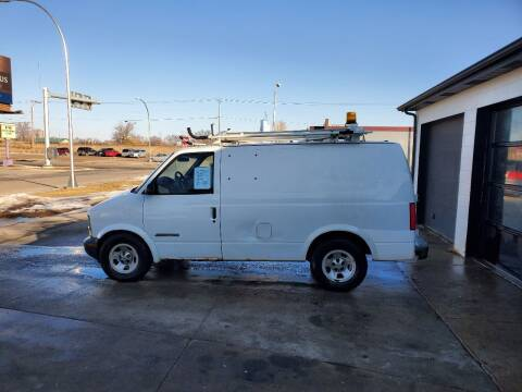 2001 Chevrolet Astro Cargo for sale at GOOD NEWS AUTO SALES in Fargo ND