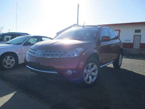 2006 Nissan Murano for sale at Sunrise Auto Sales in Liberal KS