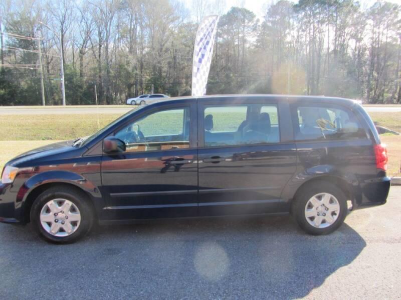 2013 Dodge Grand Caravan for sale at Colvin Auto Sales in Tuscaloosa AL