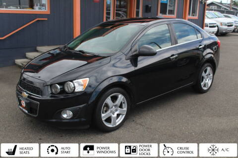 2015 Chevrolet Sonic for sale at Sabeti Motors in Tacoma WA