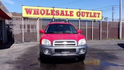 2005 Hyundai Santa Fe for sale at LONG BROTHERS CAR COMPANY in Cleveland OH