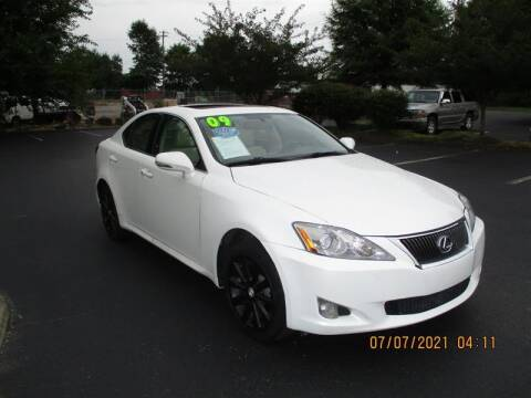 2009 Lexus IS 250 for sale at Euro Asian Cars in Knoxville TN