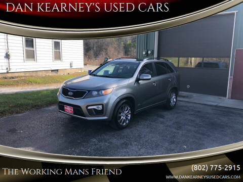 2013 Kia Sorento for sale at DAN KEARNEY'S USED CARS in Center Rutland VT