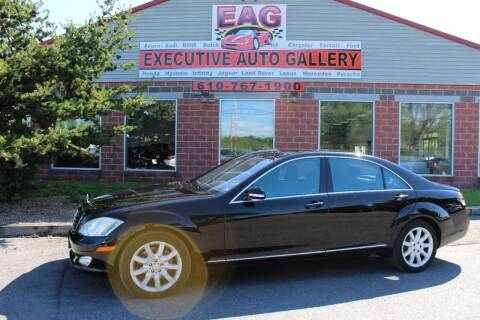 2008 Mercedes-Benz S-Class for sale at EXECUTIVE AUTO GALLERY INC in Walnutport PA