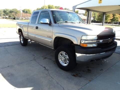 2002 Chevrolet Silverado 2500HD for sale at J & L Sales LLC in Topeka KS