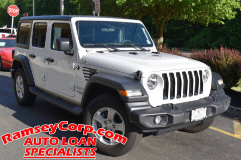 2018 Jeep Wrangler Unlimited for sale at Ramsey Corp. in West Milford NJ