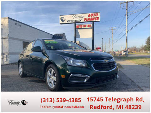 2015 Chevrolet Cruze for sale at The Family Auto Finance in Redford MI
