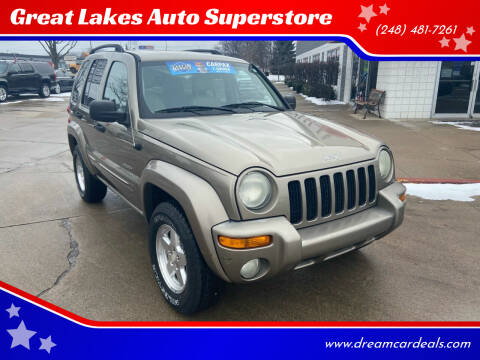 2004 Jeep Liberty for sale at Great Lakes Auto Superstore in Pontiac MI