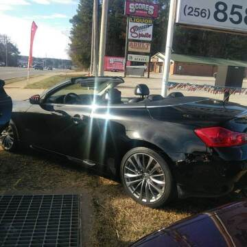 2011 Infiniti G37 Convertible for sale at AUTOPLEX 528 LLC in Huntsville AL