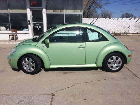 2002 Volkswagen New Beetle for sale at Velp Avenue Motors LLC in Green Bay WI