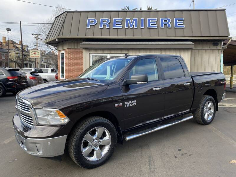 2016 RAM Ram Pickup 1500 for sale at Premiere Auto Sales in Washington PA