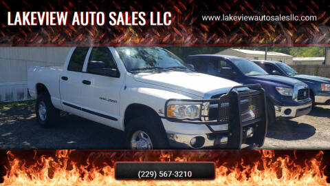 2003 Dodge Ram Pickup 2500 for sale at Lakeview Auto Sales LLC in Sycamore GA