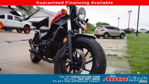 2018 Honda CMX300 for sale at The Auto Link Inc. in Bartonville IL