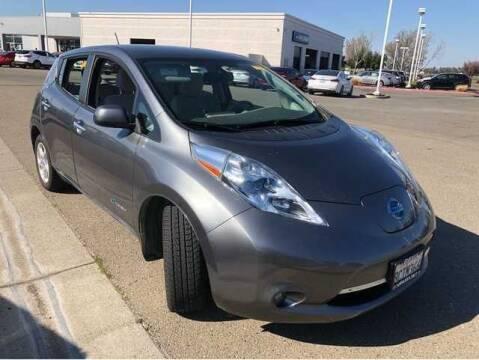 2015 Nissan LEAF for sale at CENTURY MOTORS in Fresno CA