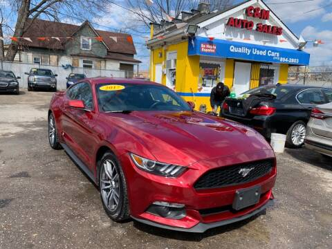 2017 Ford Mustang for sale at C & M Auto Sales in Detroit MI