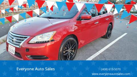 2014 Nissan Sentra for sale at Everyone Auto Sales in Santa Clara CA