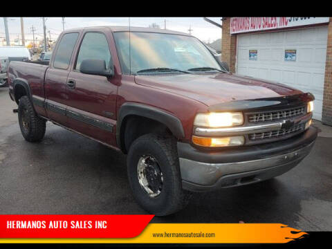 2002 Chevrolet Silverado 1500 for sale at HERMANOS AUTO SALES INC in Hamilton OH