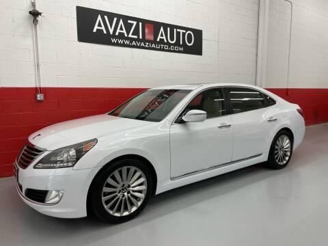 2014 Hyundai Equus for sale at AVAZI AUTO GROUP LLC in Gaithersburg MD