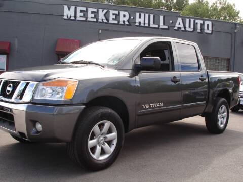 2011 Nissan Titan for sale at Meeker Hill Auto Sales in Germantown WI