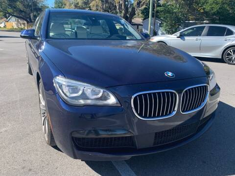 2015 BMW 7 Series for sale at Consumer Auto Credit in Tampa FL
