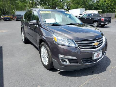 2013 Chevrolet Traverse for sale at Stach Auto in Janesville WI