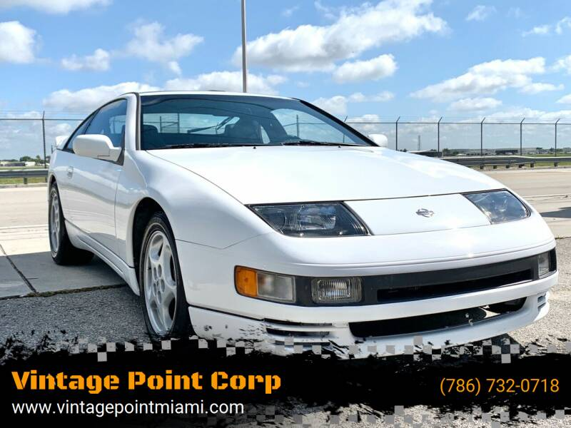 1991 Nissan 300ZX for sale at Vintage Point Corp in Miami FL