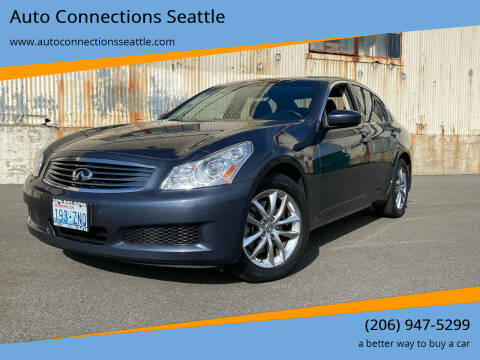 2009 Infiniti G37 Sedan for sale at Auto Connections Seattle in Seattle WA
