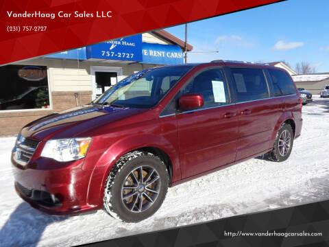 2017 Dodge Grand Caravan for sale at VanderHaag Car Sales LLC in Scottville MI
