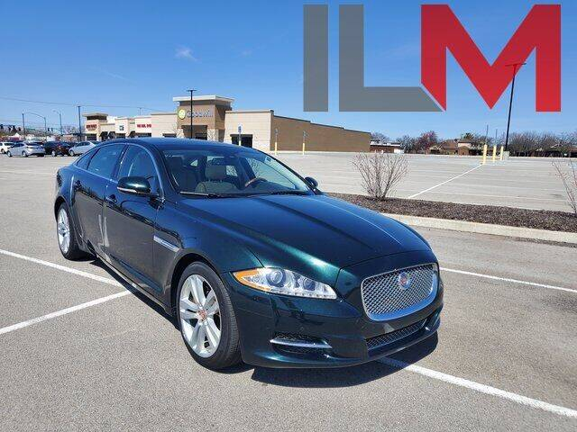 2014 Jaguar XJL for sale at INDY LUXURY MOTORSPORTS in Fishers IN