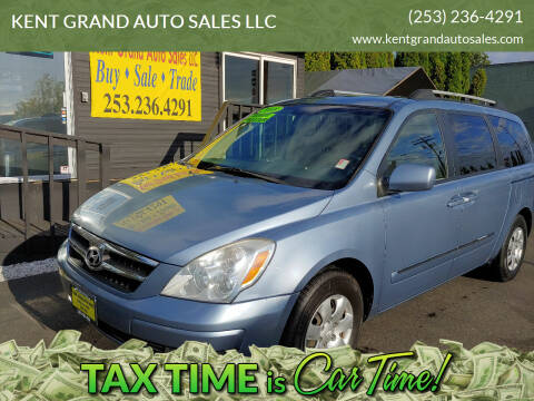2008 Hyundai Entourage for sale at KENT GRAND AUTO SALES LLC in Kent WA