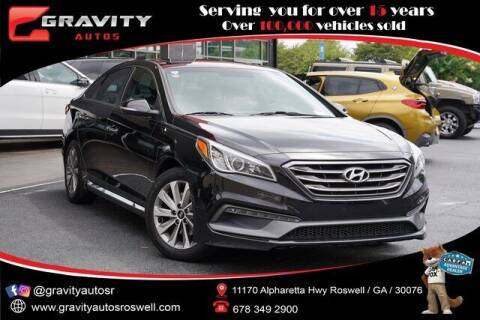 2017 Hyundai Sonata for sale at Gravity Autos Roswell in Roswell GA