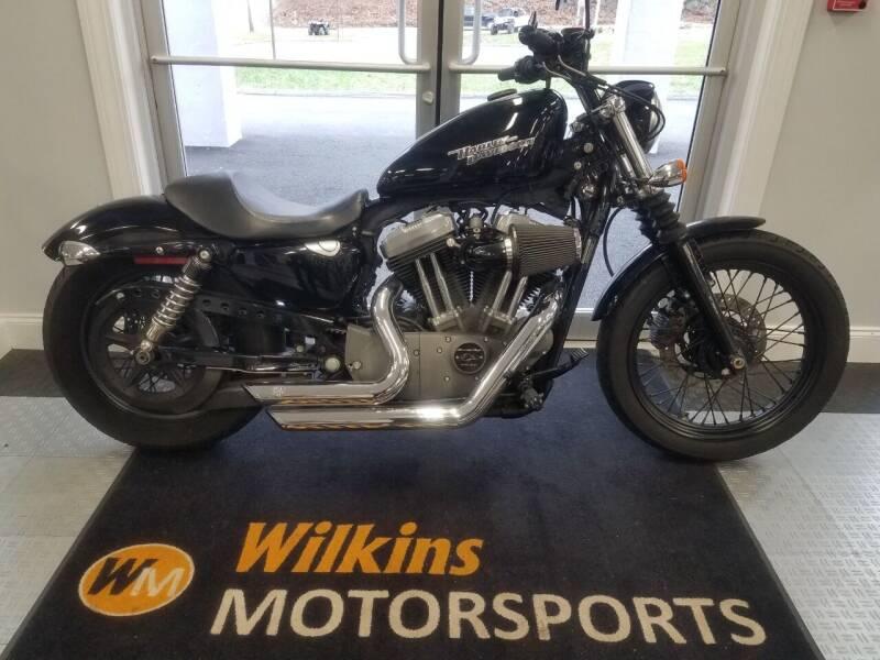 2009 Harley-Davidson Sportster Nightster 1200 for sale at WILKINS MOTORSPORTS in Brewster NY