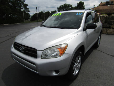 2007 Toyota RAV4 for sale at Mike Federwitz Autosports, Inc. in Wisconsin Rapids WI