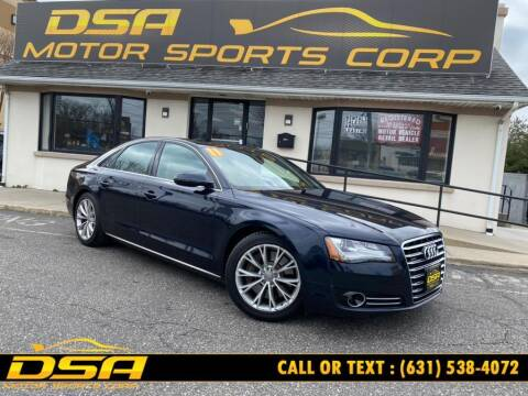 2011 Audi A8 for sale at DSA Motor Sports Corp in Commack NY