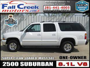 2003 Chevrolet Suburban for sale at Fall Creek Motor Cars in Humble TX