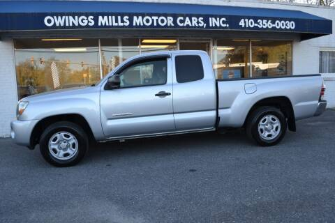 2011 Toyota Tacoma for sale at Owings Mills Motor Cars in Owings Mills MD