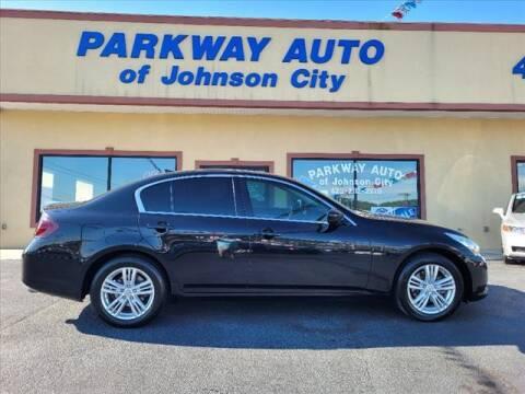 2012 Infiniti G25 Sedan for sale at PARKWAY AUTO SALES OF BRISTOL - PARKWAY AUTO JOHNSON CITY in Johnson City TN