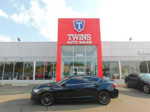 2019 Acura ILX for sale at Twins Auto Sales Inc Redford 1 in Redford MI