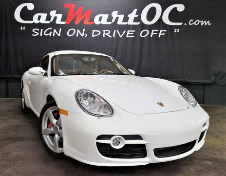 2008 Porsche Cayman for sale at CarMart OC in Costa Mesa, Orange County CA