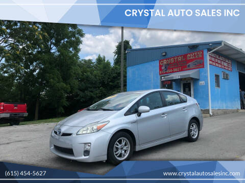 2011 Toyota Prius for sale at Crystal Auto Sales Inc in Nashville TN