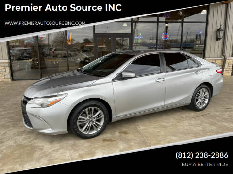 2016 Toyota Camry for sale at Premier Auto Source INC in Terre Haute IN
