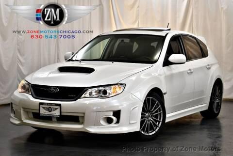 2014 Subaru Impreza for sale at ZONE MOTORS in Addison IL