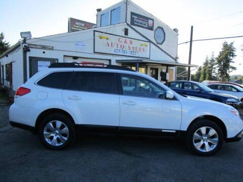 2012 Subaru Outback for sale at G&R Auto Sales in Lynnwood WA