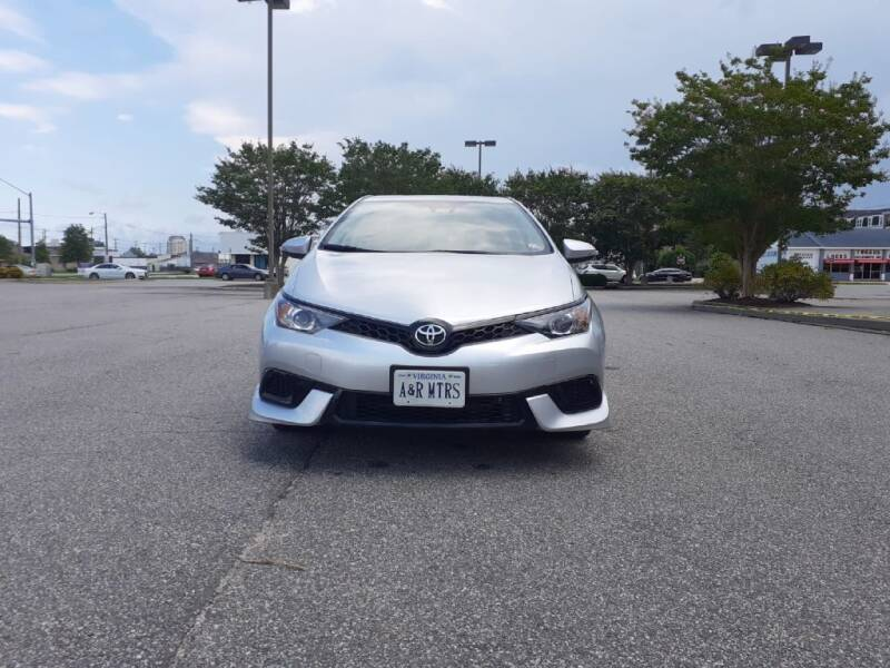 2018 Toyota Corolla iM for sale at A&R MOTORS in Portsmouth VA