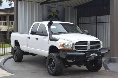 2006 Dodge Ram Pickup 2500 for sale at G MOTORS in Houston TX
