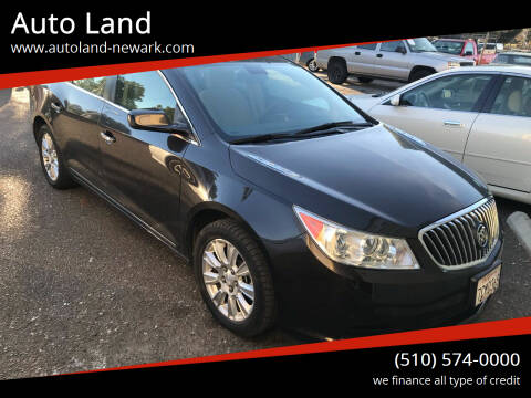 2013 Buick LaCrosse for sale at Auto Land in Newark CA